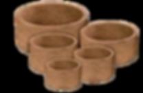 melhor vaso para orquideas, fibra de coco