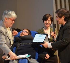 Le fiabe del Principe Michele sul podio  a Roma per il premio nazionale O.Ma.R