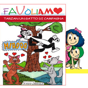 TARZAN UN GATTO DI CAMPAGNA Leggi, disegna, condividi