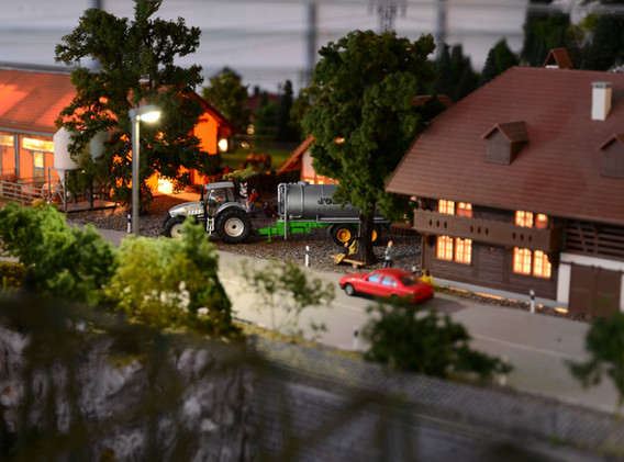 Modelleisenbahnanlage Bunkerstore