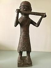 sculpture en bronze - débarras gratuit