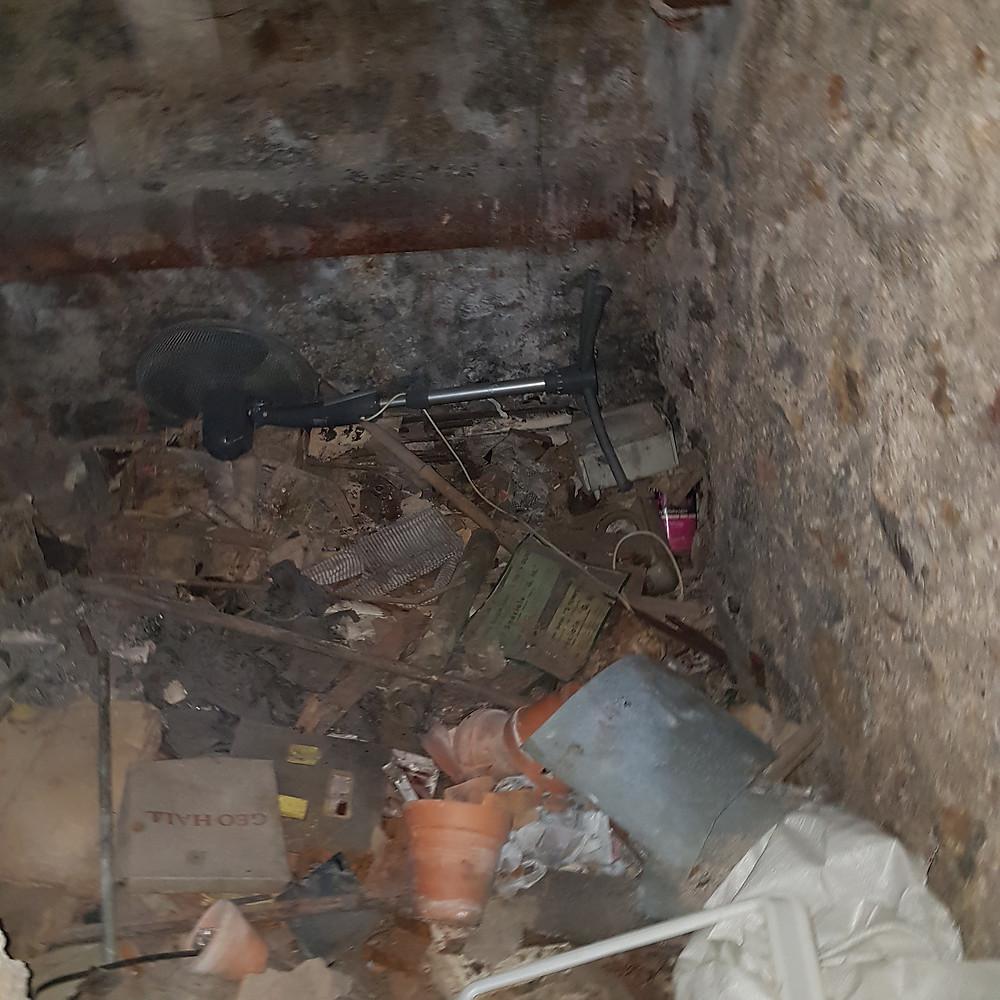debarras de cave Paris 15