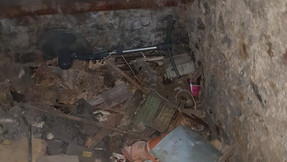 Débarras d'une cave rue victor Galland
