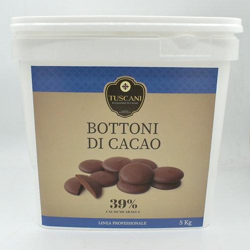 Bottoni Dolce Latte 39% 5kg