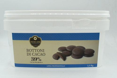 Bottoni Dolce Latte 39%  2.5kg