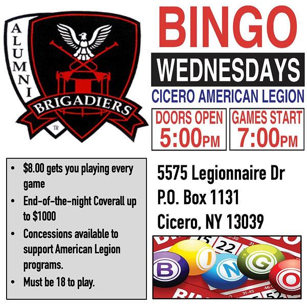 Brigs Bingo is back.jpg