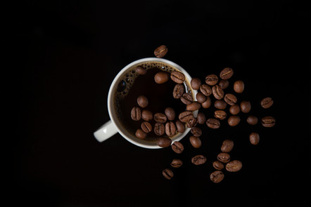 Reklamefoto: Kaffe