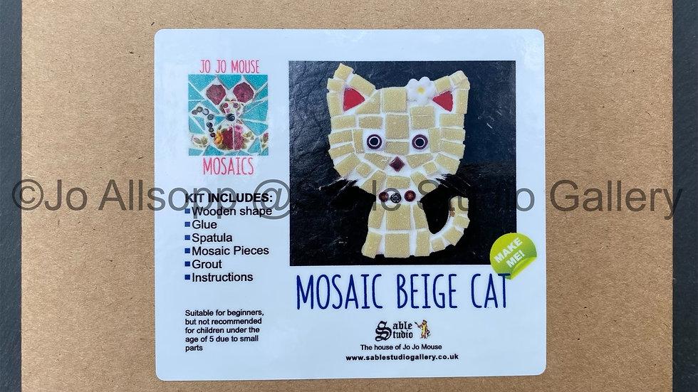Mosaic Cat Craft Kit