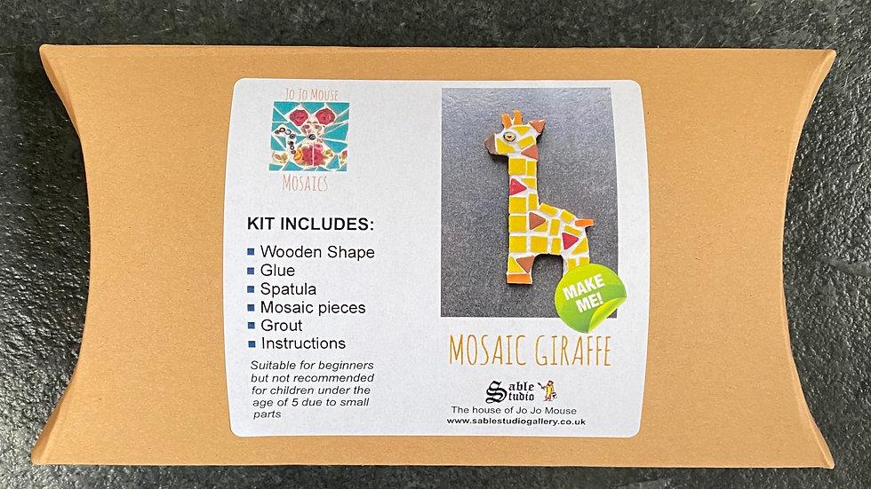 Mosaic Giraffe Craft Kit