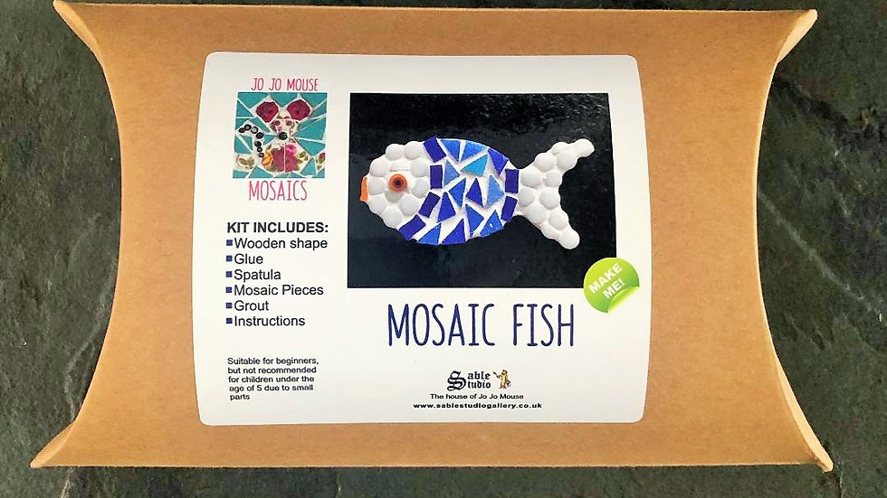 Mosaic Fish Craft Kit