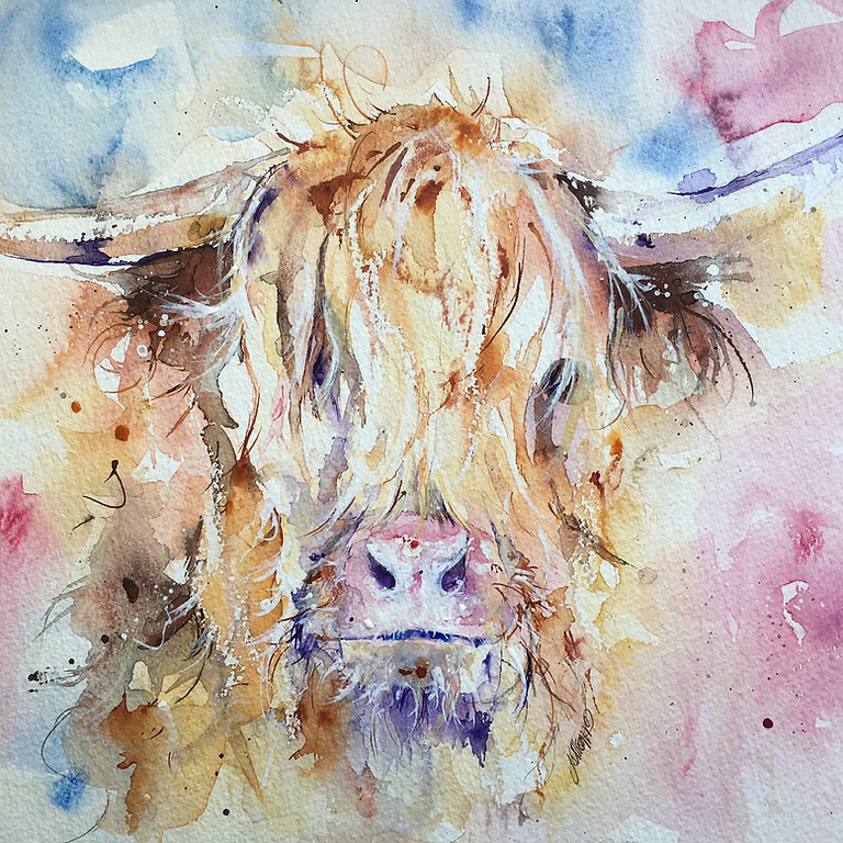 Watercolour Wildlife Painting & Prosecco