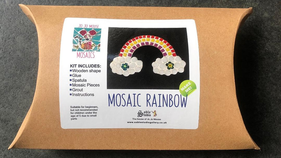 Mosaic Rainbow Craft Kit