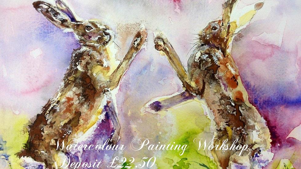 Deposit for Painting Workshop 24 July 2021