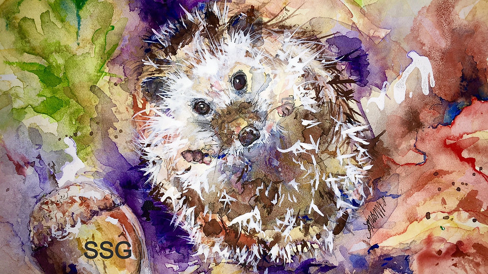 Herbert Hoglet limited edition giclee print