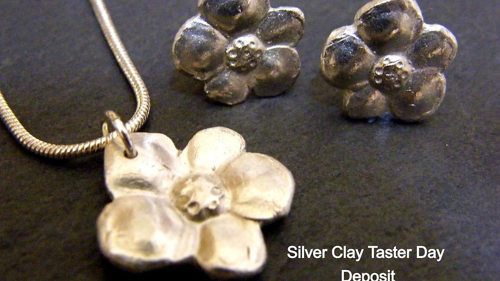 Silver Jewellery Taster deposit 3rd July 2021