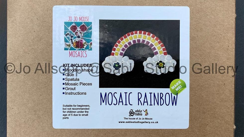 Mosaic Rainbow Craft Kit