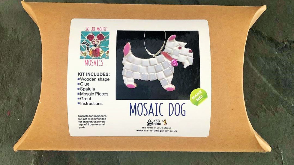 Dog Mosaic Craft Kit