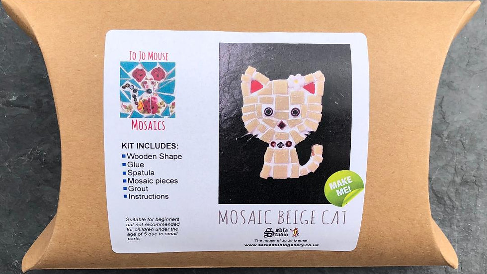 Mosaic Cat Craft Kit