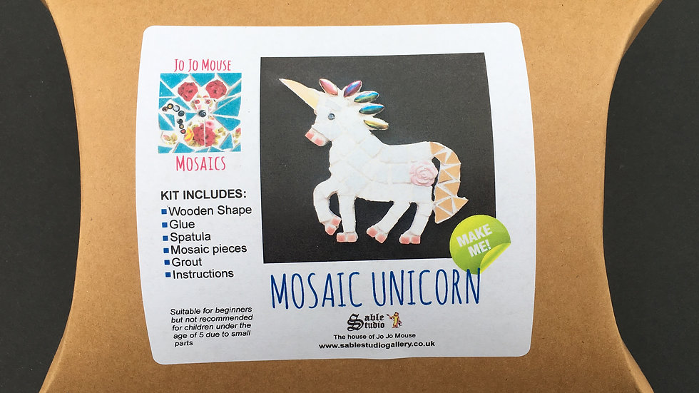 Mosaic Unicorn Craft Kit