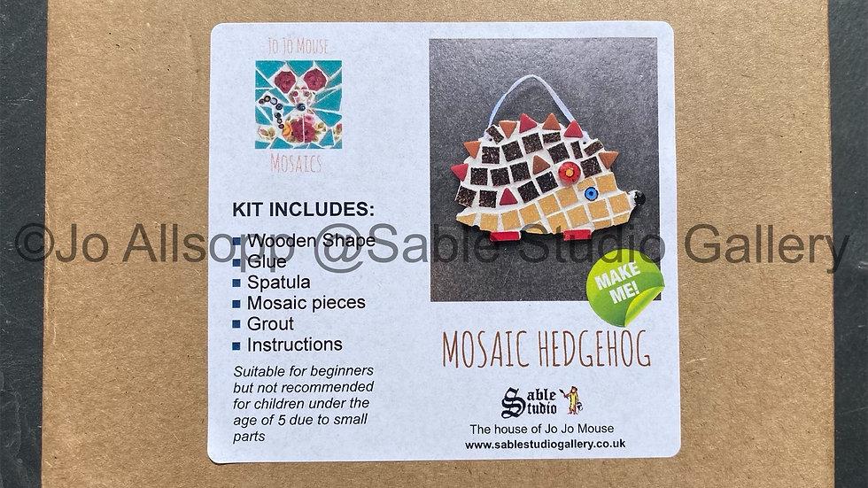Mosaic Hedgehog craft kit