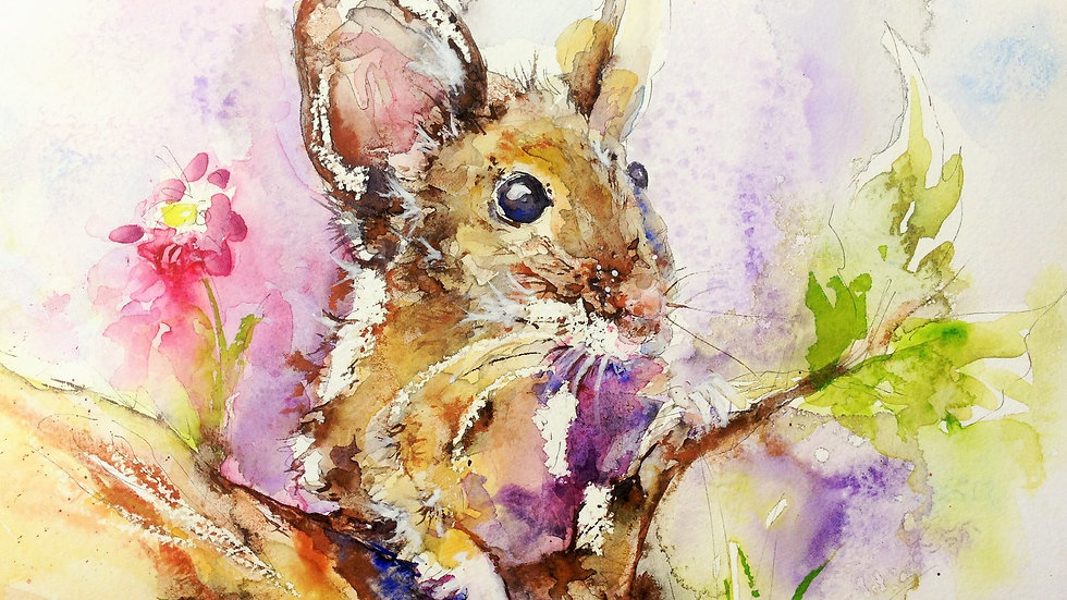 Mousey limited edition giclee print