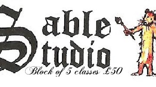 Block of 5 classes