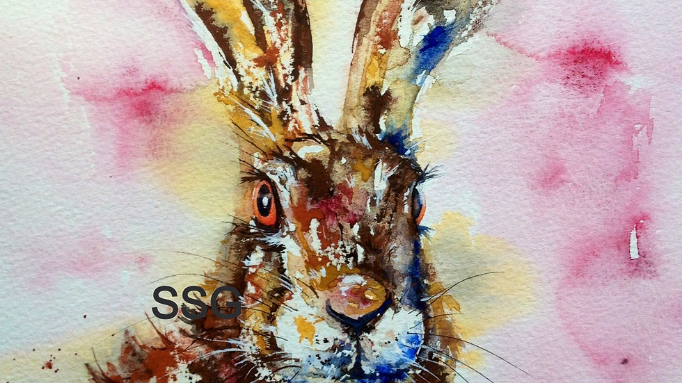 Wildlife Watercolour Workshop - With Prosecco