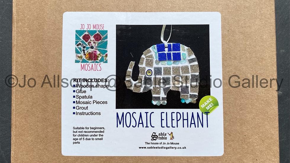 Mosaic Elephant Craft kit
