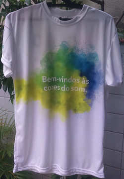 camiseta polidry com sublimação