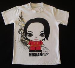 camiseta com silk toque zero michael