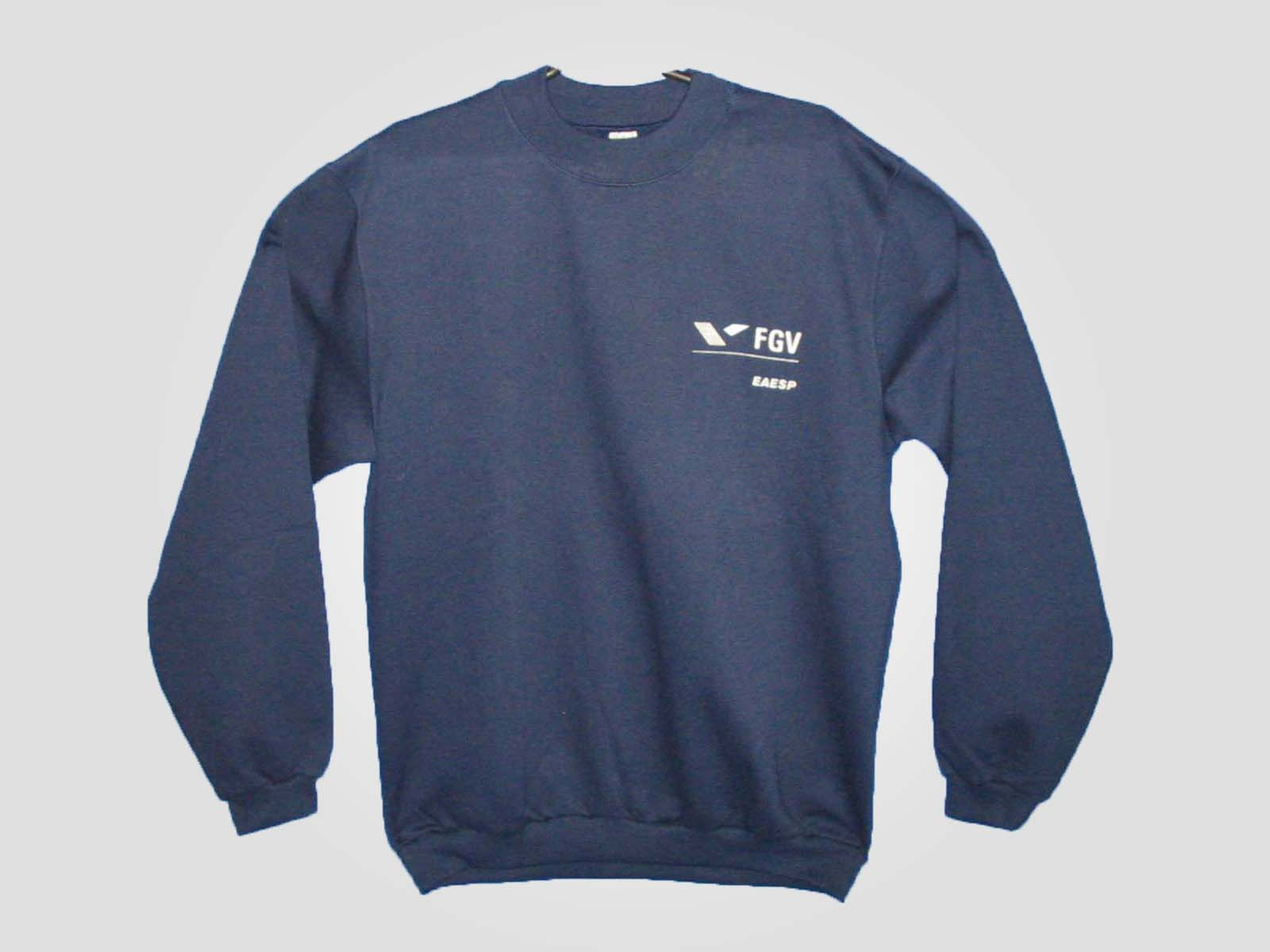 blusão FGV marinho