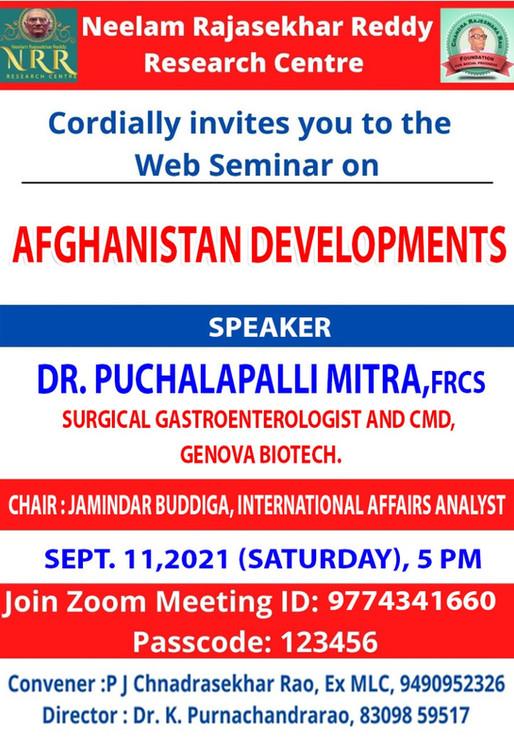 Seminar On Afghanistan