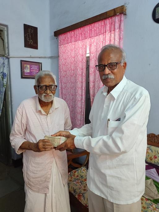 Dr. Yetukuri Prasad donation