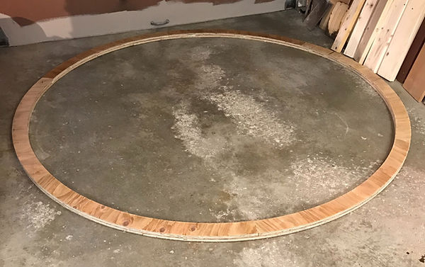 gluing observatory silo rings