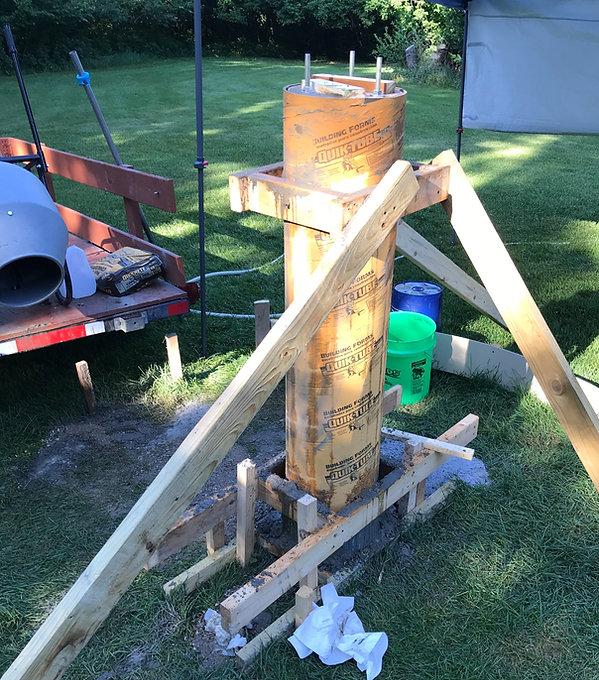observatory pilar form