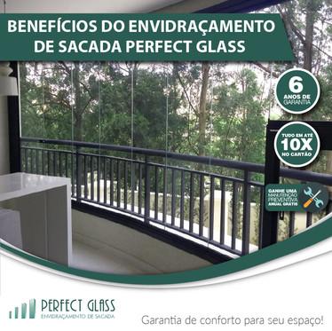 Benefícios do envidraçamento de sacada Perfect Glass