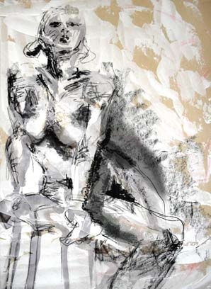 Life drawing artwork
