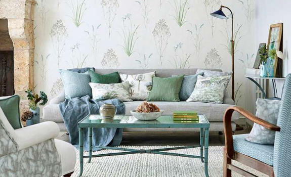 Sanderson fabric and wallpaper 2018