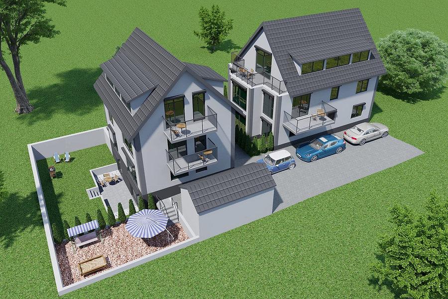 Neubau-Wohnungen in Mörsch