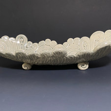 Swirl berry bowl side view