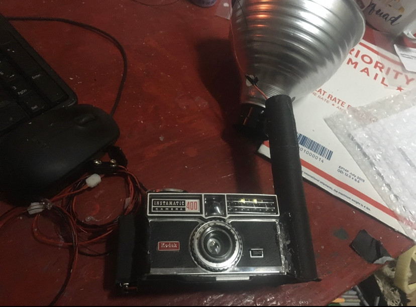 Flashing Camera