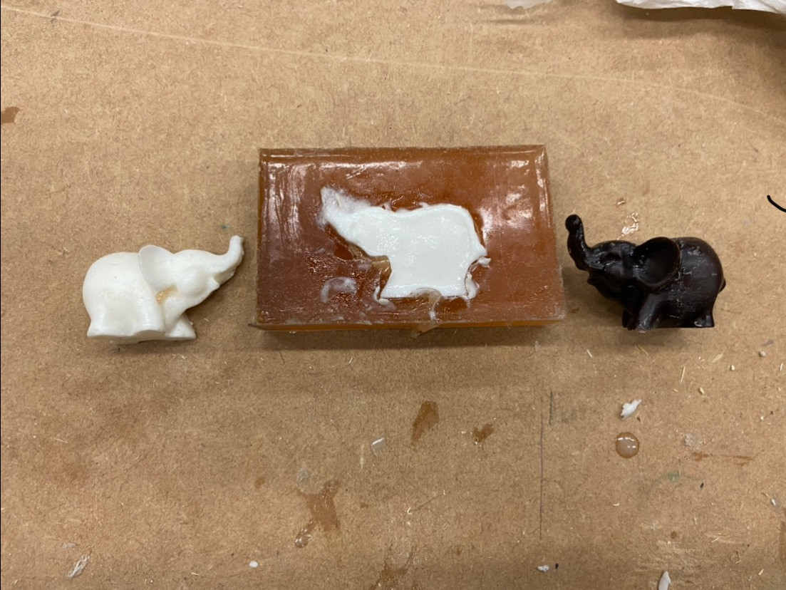Silicon Molding, Plaster Casting