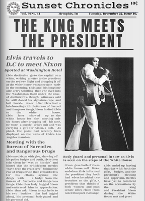 The Newspaper for Elvis has Lefted the Building - Alterative Headline