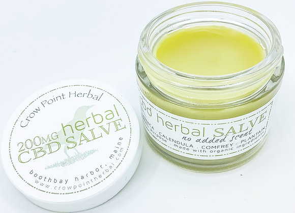 WS Herbal Salve (with CBD)
