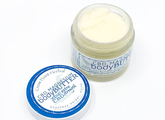 Magnesium Body Butter (with CBD)