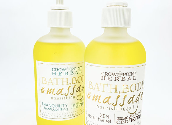 WS Massage & Body Oil (with CBD)