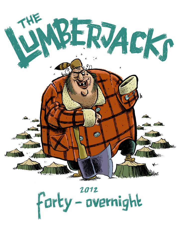 Illustration: the lumberjacks