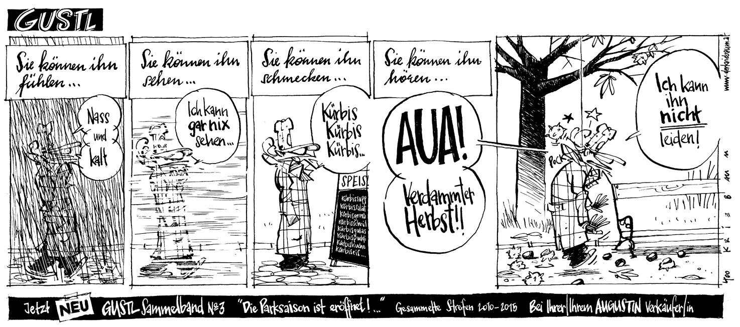 Gustl Comicstrip/Augustin