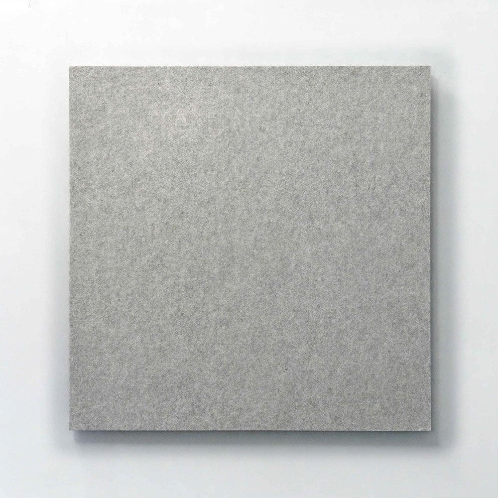 Whisperwool Akustik Wandpaneel Silbergrau