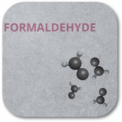 Whisperwool reduziert Formaldehyde